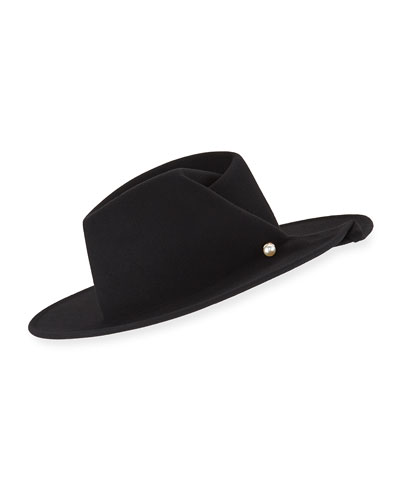 Giovanna Wool Fedora Hat