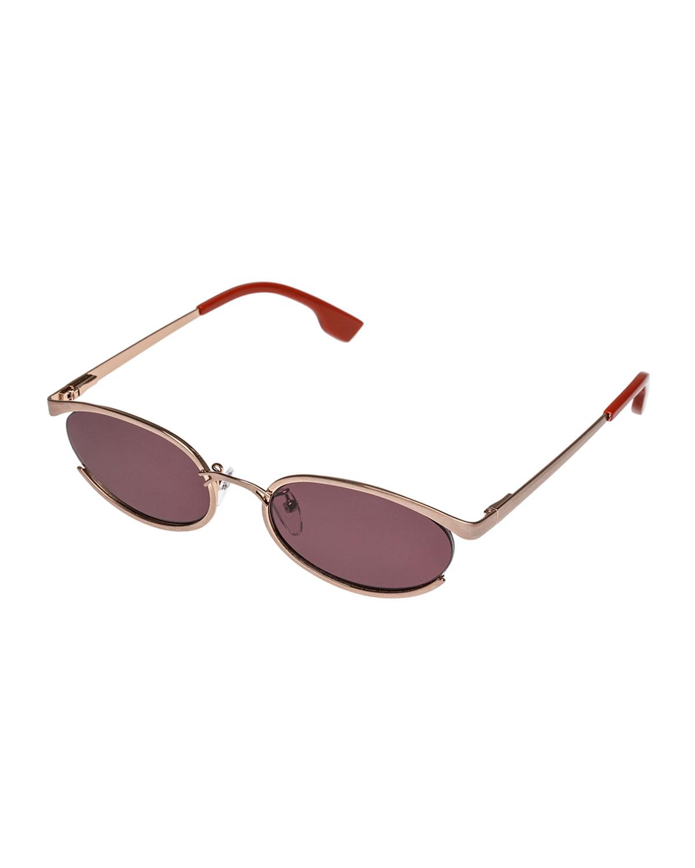 Le Specs Sunglasses TRES SOLO OVAL SUNGLASSES