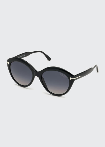 Maxine Round Polarized Sunglasses