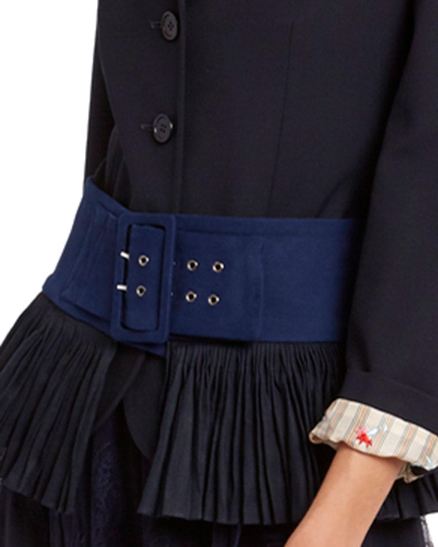 Chloé Belts WIDE WASHED COTTON BELT