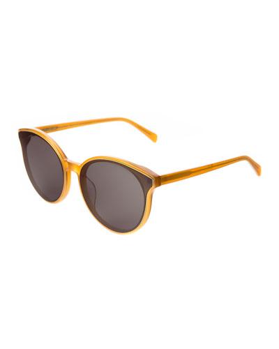 Helen Acetate Cat-Eye Sunglasses