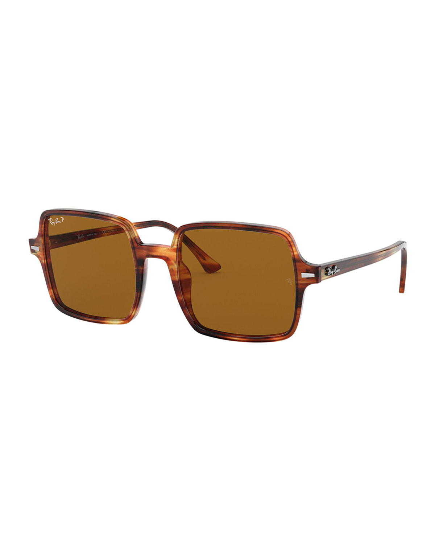 Ray Ban Sunglasses SQUARE POLARIZED ACETATE SUNGLASSES