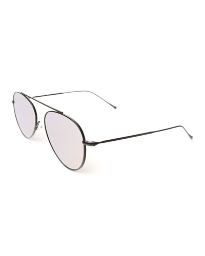 Dorchester Mirror Aviator Sunglasses
