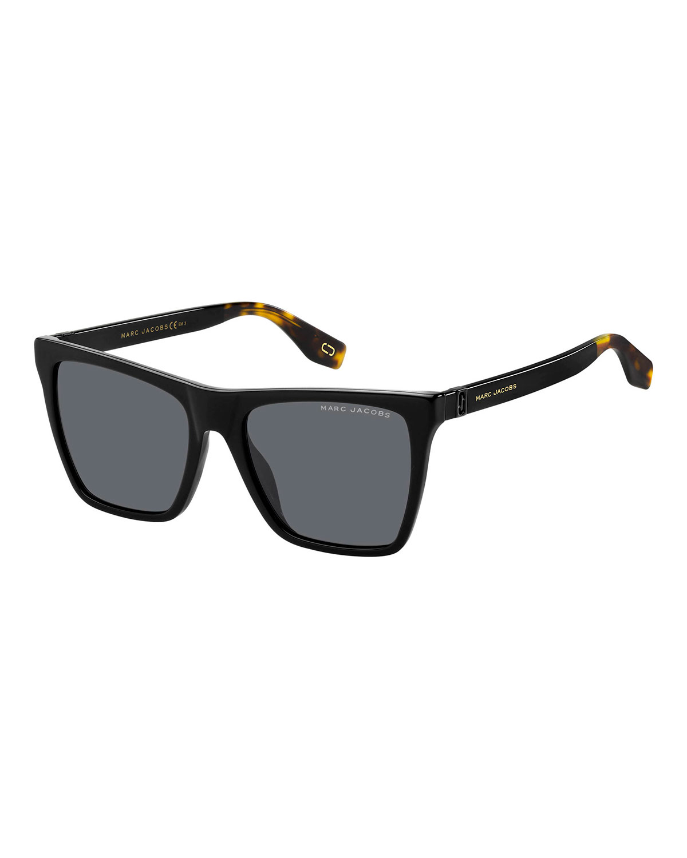 Marc Jacobs Sunglasses RECTANGLE ACETATE SUNGLASSES