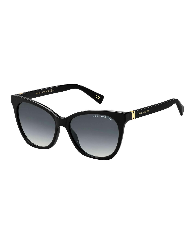 Marc Jacobs Sunglasses ACETATE RECTANGLE GRADIENT SUNGLASSES
