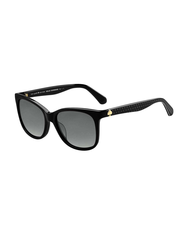 Kate Spade Sunglasses DANALYNS POLARIZED SQUARE SUNGLASSES