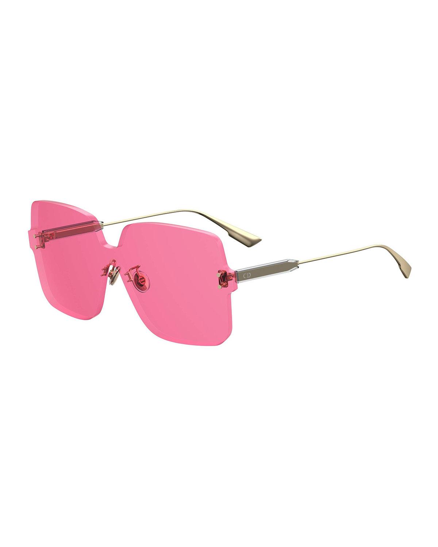 Dior Sunglasses COLORQUAKE1 SQUARE SHIELD SUNGLASSES