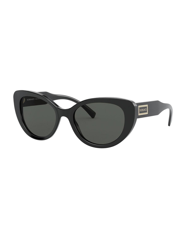 Versace Sunglasses CAT-EYE ACETATE SUNGLASSES