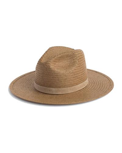 Adriana Straw Fedora Hat
