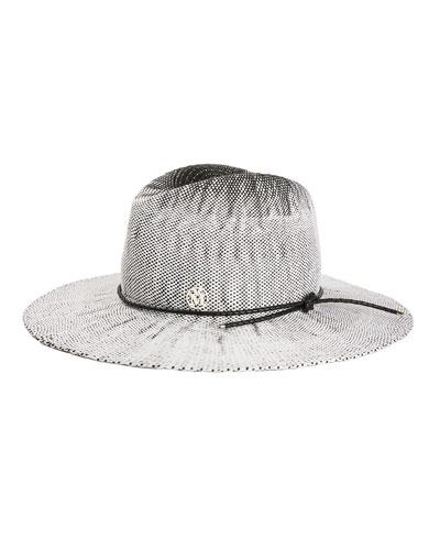 Drake Lambs Fur Fedora Hat in Black