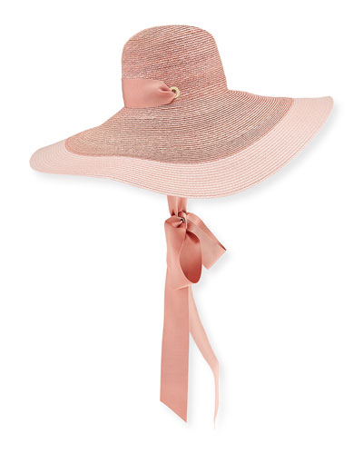 Jeannie Straw Large Brim Hat