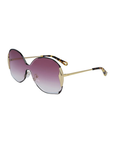 Curtis Gradient Shield Sunglasses