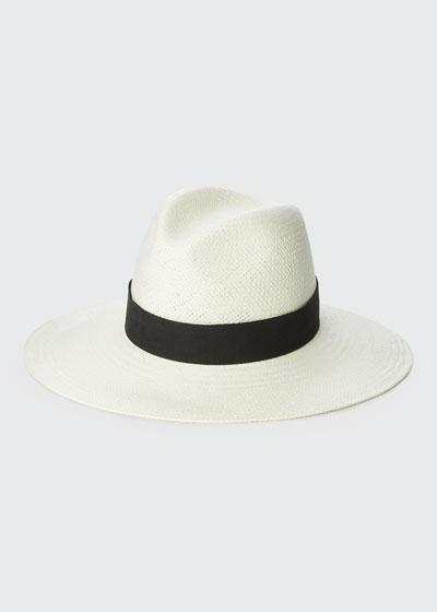 Corbin Straw Fedora Hat
