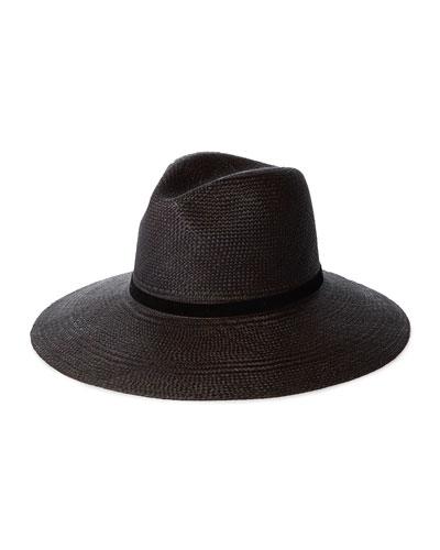 Selma Straw Fedora Hat