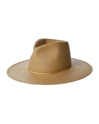 Arlo Straw Fedora Hat