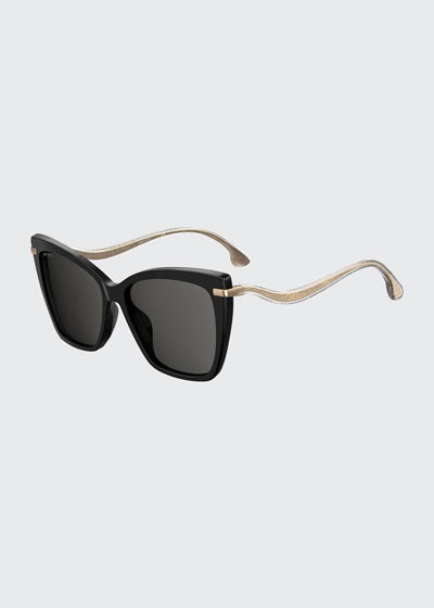 Selby Polarized Butterfly Acetate Sunglasses