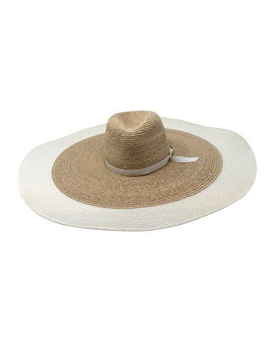 Clemens Large Brim Straw Sun Hat