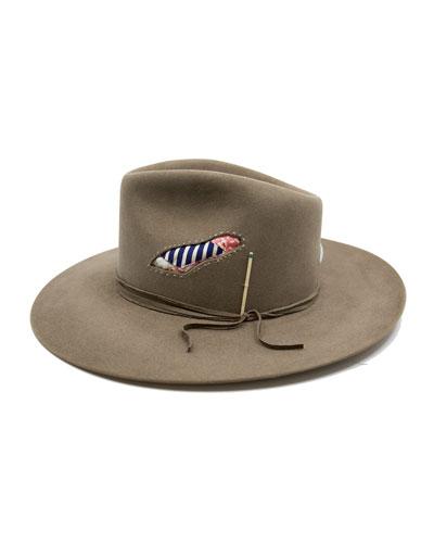 Beaver Felt Fedora Hat