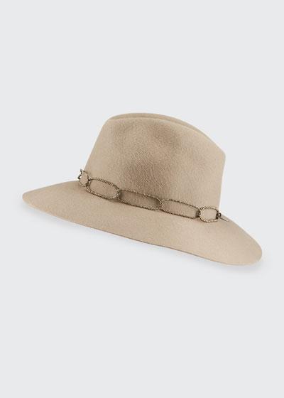 Rabbit Felt Fedora Hat
