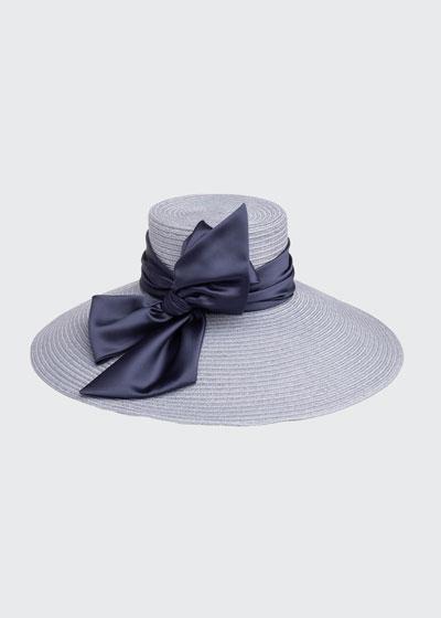 Mirabel Vented Hemp-Blend Sun Hat
