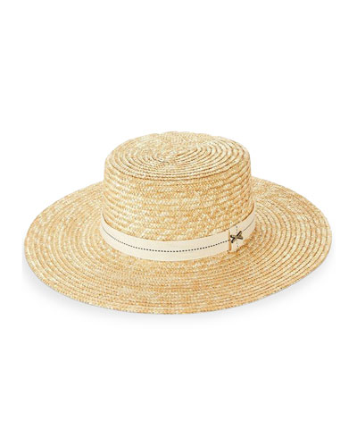 Je T'aime French Boater Hat