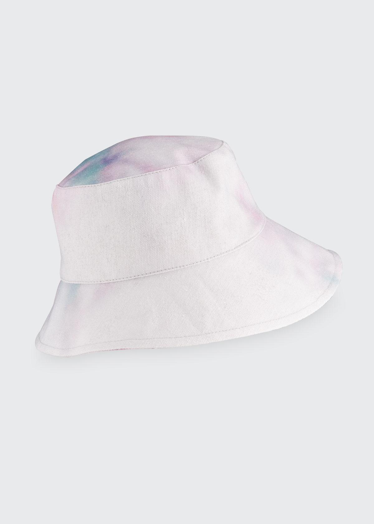 Isabel Marant Hats LOIENA TIE-DYE PRINT BUCKET HAT
