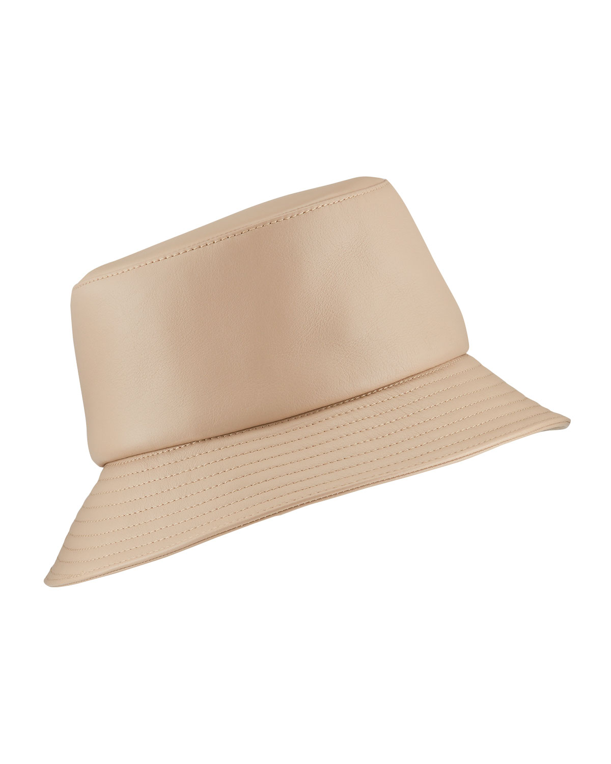 Helen Kaminski ORIANNA LEATHER BUCKET HAT