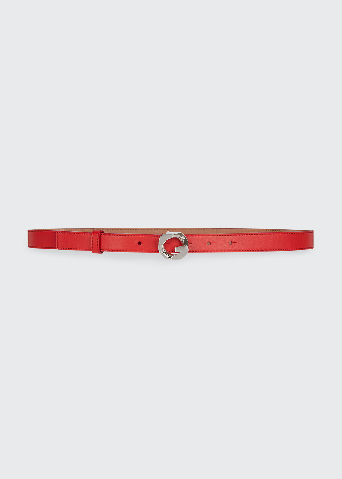Givenchy Belts G CHAIN 20MM LEATHER BELT