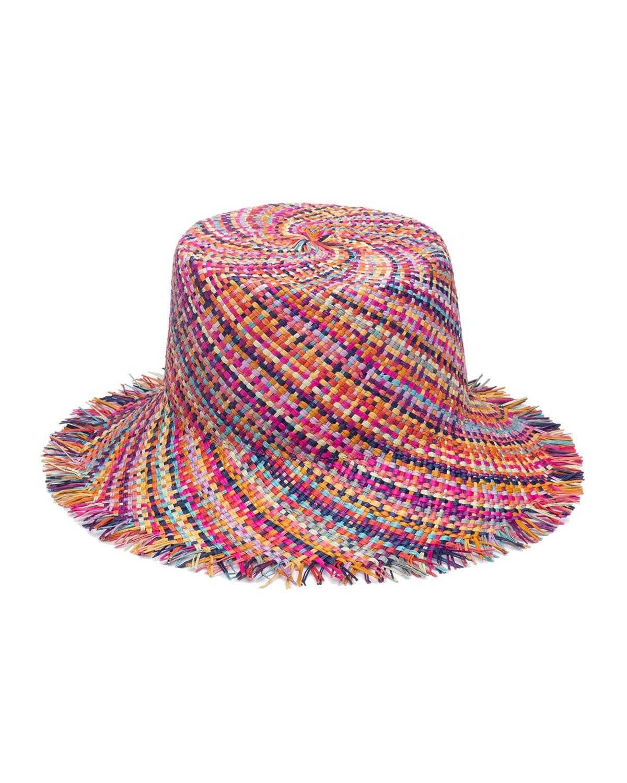 Eugenia Kim RAMONA STRAW BUCKET HAT