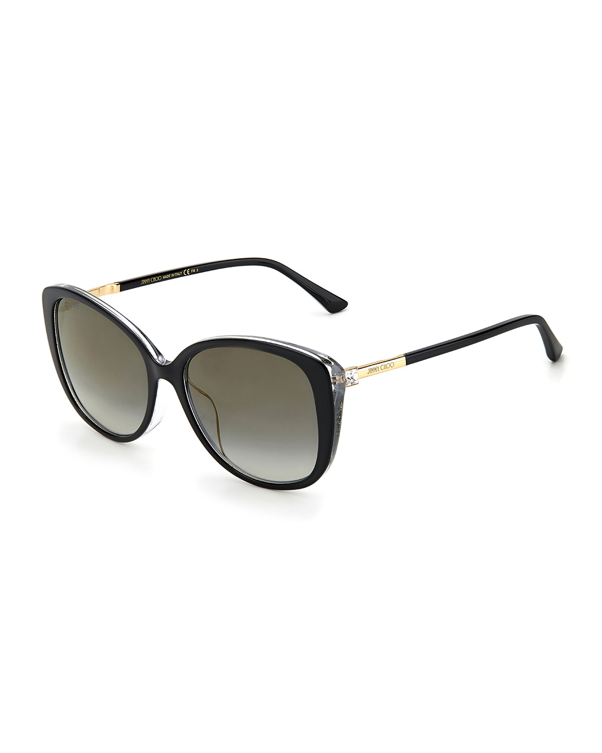 Jimmy Choo ALY ACETATE BUTTERFLY SUNGLASSES