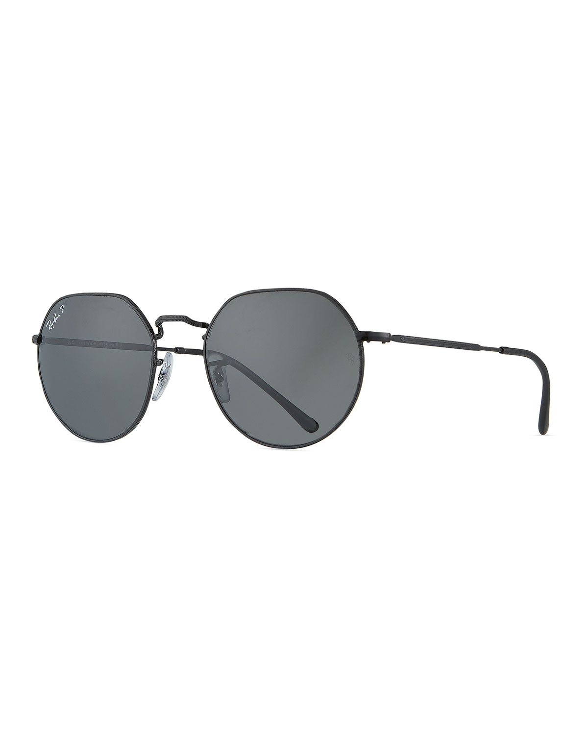 Ray Ban RB356553P POLARIZED ROUND METAL SUNGLASSES