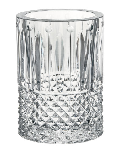 Tommy Crystal Oval Vase