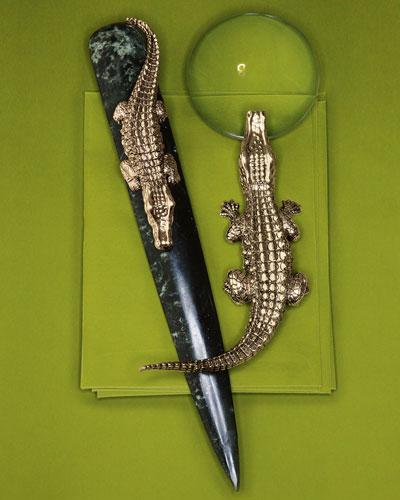 L'Objet Crocodile Letter Opener