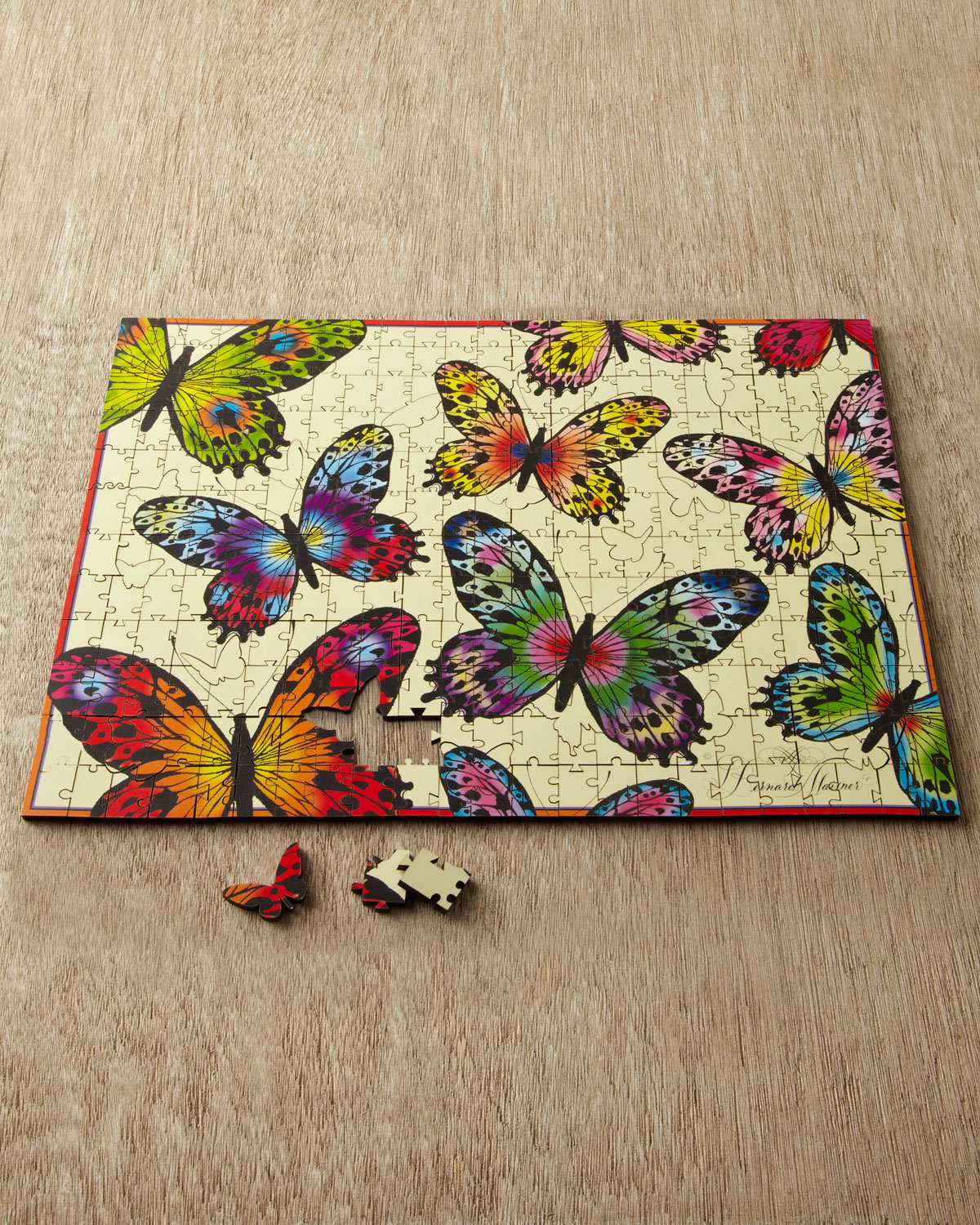 BEAUTIFUL BUTTERFLY PUZZLE