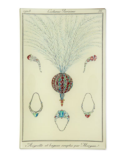 Costumes Parisiens Jewelry Plate