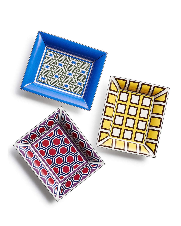 Geometric-Print Small Tray