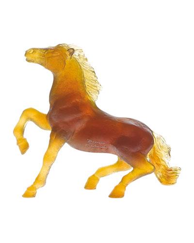 Wild Horse Sculpture