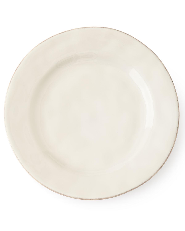 Juliska Dinnerwares PURO WHITEWASH DESSERT/SALAD PLATE