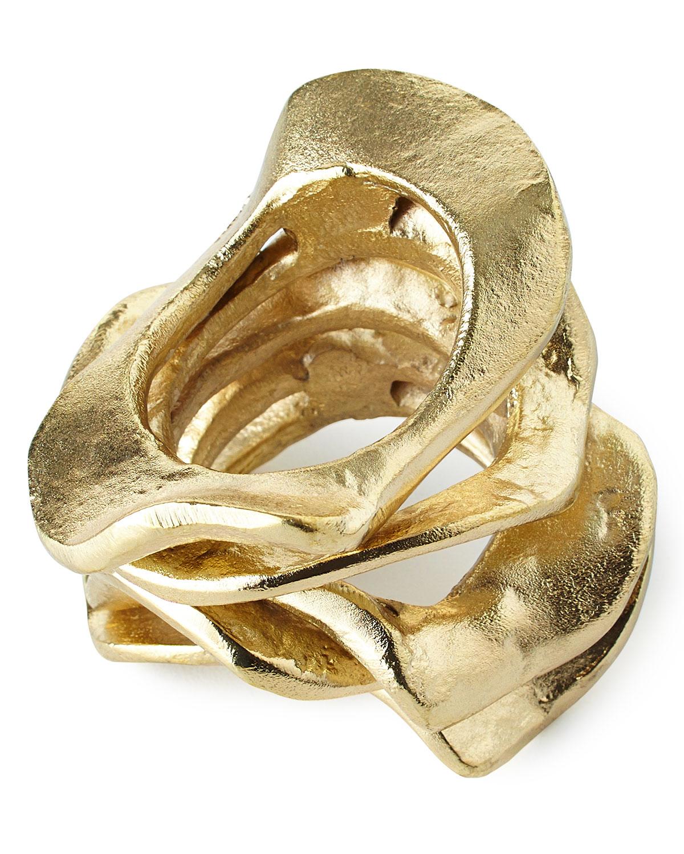 Kim Seybert Clothing FLUX NAPKIN RING