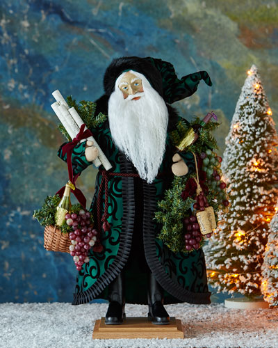 Holiday Vintage Santa Figure