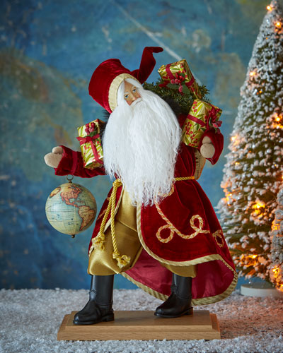 In the Blink of Eye 30th-Anniversary Santa Figure
