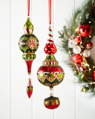Noel Dangle Christmas Ornament