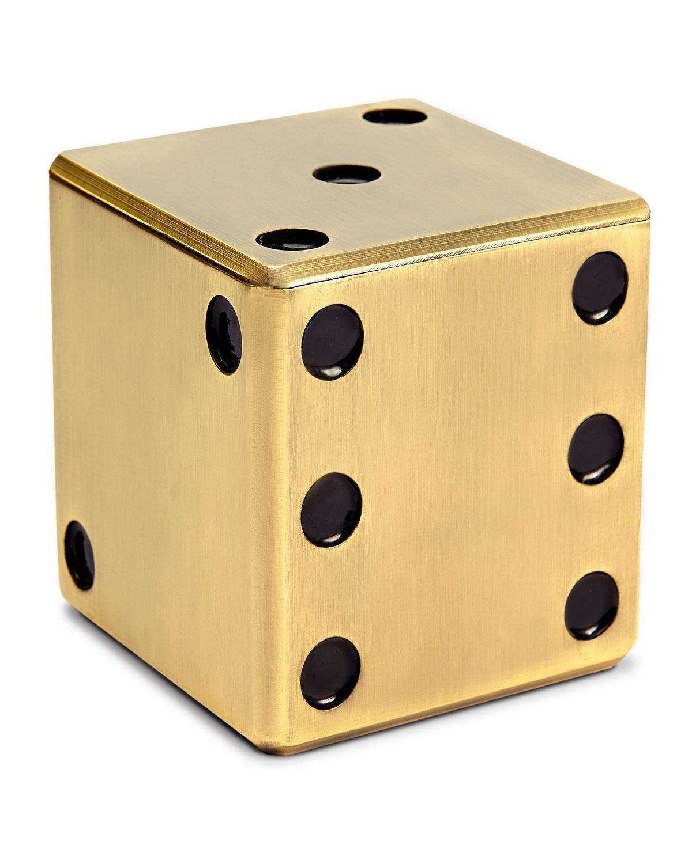 L'objet Clothing GOLDEN DICE DECORATIVE BOX