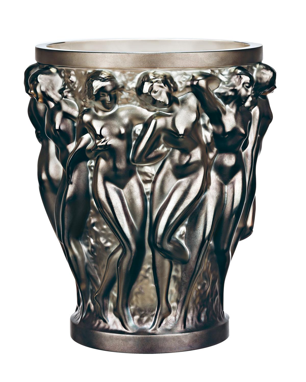 Lalique Home decors BACCHANTES BRONZE VASE
