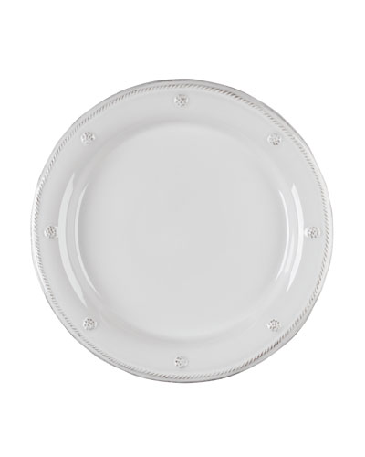 Juliska Berry & Thread Whitewash Dinner Plate