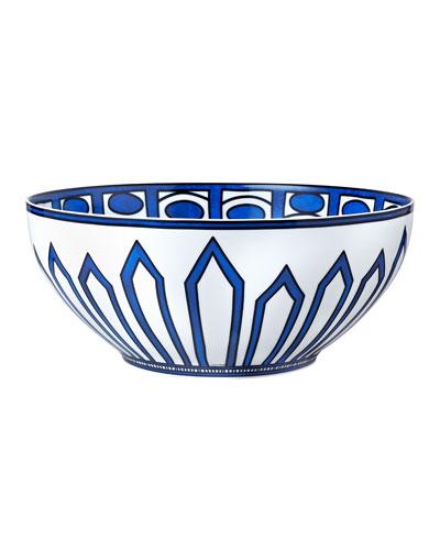 Bleus D'Ailleurs Large Salad Bowl
