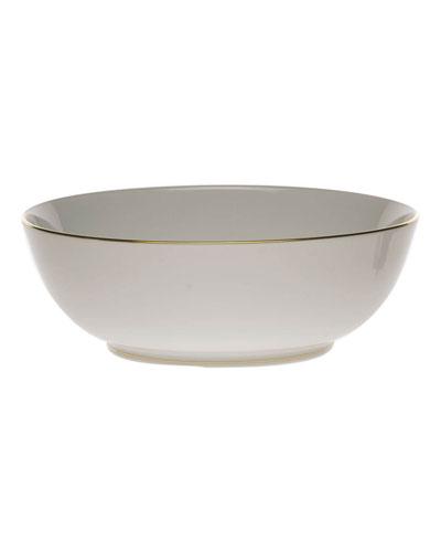 Golden Edge Large Bowl