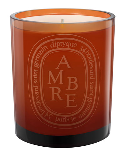 Amber Scented Candled, 10.5 oz.