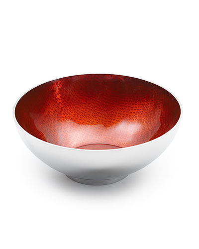 Symphony Ruby Red Round Bowl