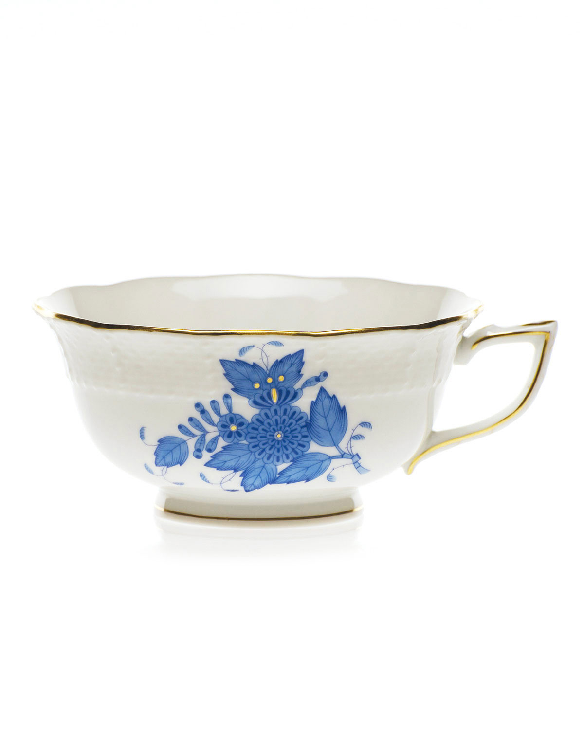Herend Drinkwares BLUE CHINESE BOUQUET TEACUP